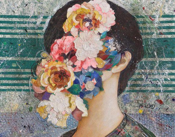 Floral Face #7